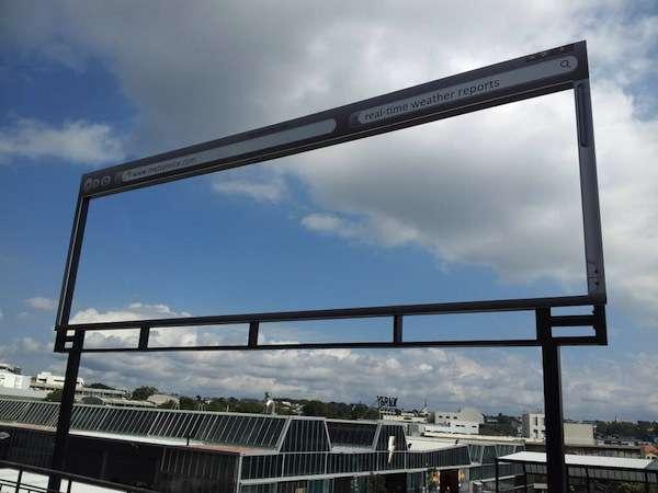 Web-Browser Billboards