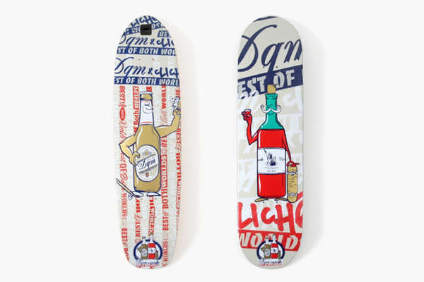 Personified Bottle Skateboard Decks