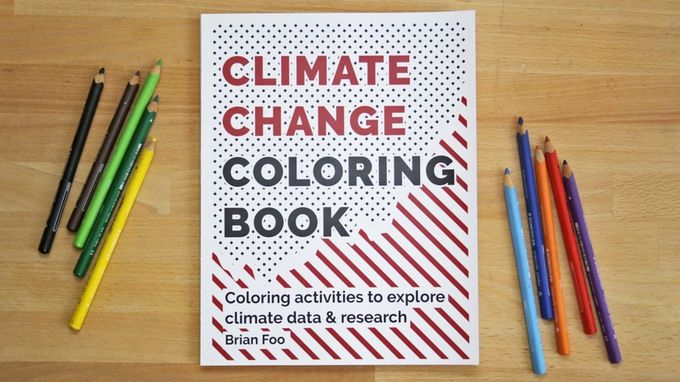 Climate Change Coloring Books