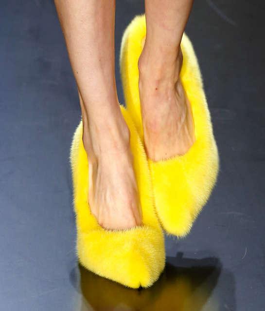 Plush Mink Heels
