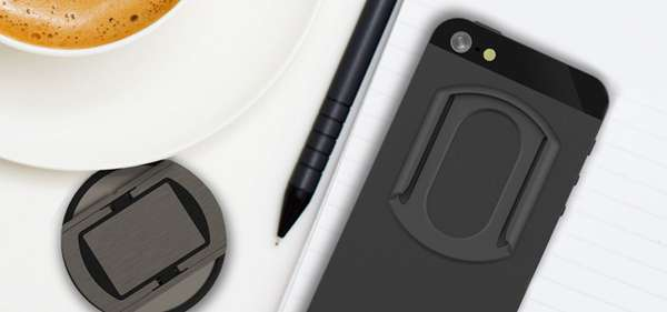 Magnetized Smartphone Body Mounts