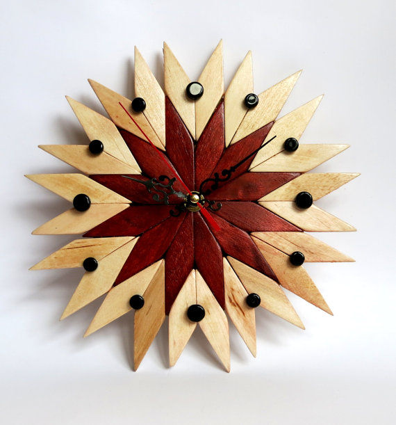 Decorative Woodwork Timekeepers