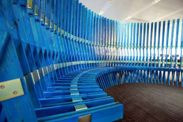 Accordion-Inspired Seats