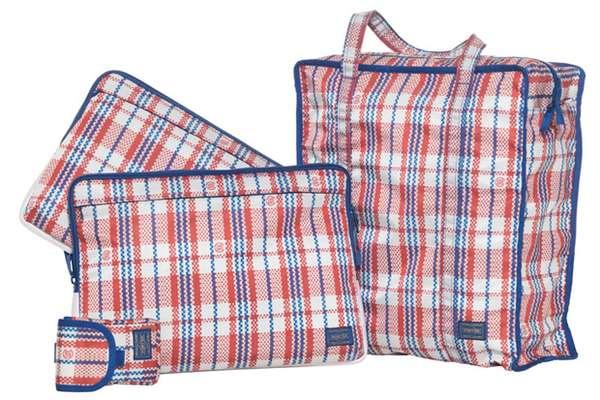 Designer Tartan Baggage