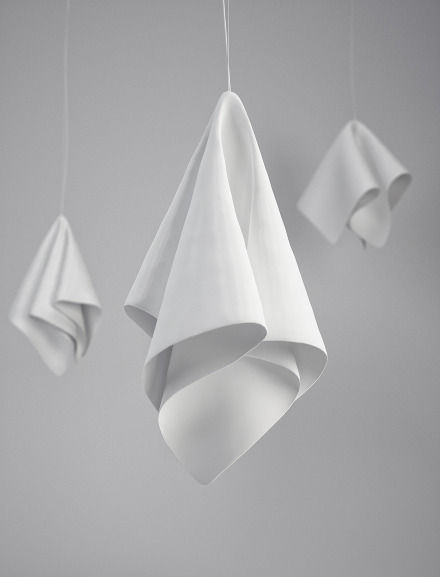 Folded Napkin Illuminators