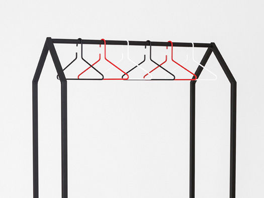 Roofed Garment Racks