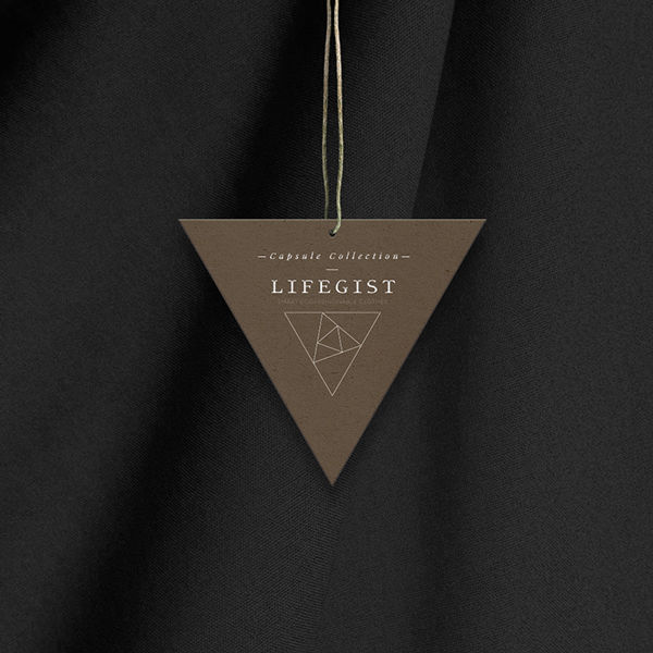 Geometric Clothing Tags