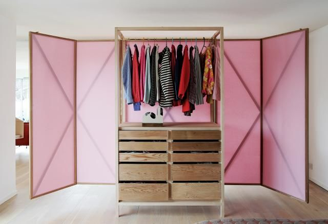 Room-Dividing Wardrobes