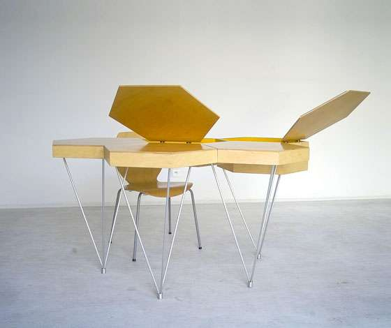 Helpful Honeycomb Furniture