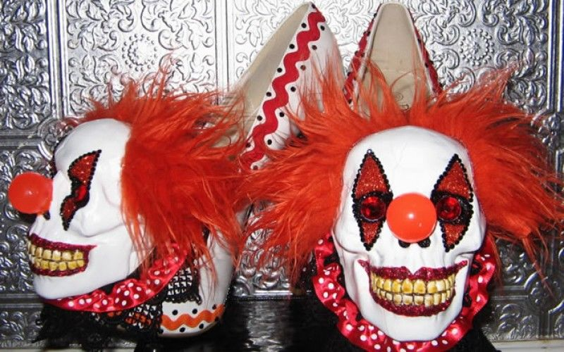 Evil Clown Heels