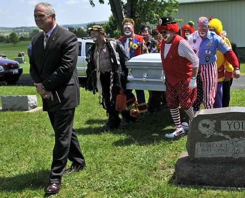 Circus Funerals