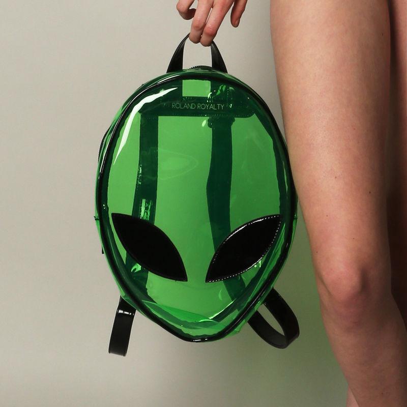 Transparent Alien Backpacks