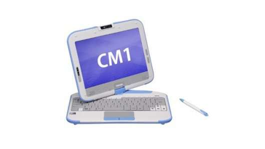 The Atom-powered CM1 notebook
