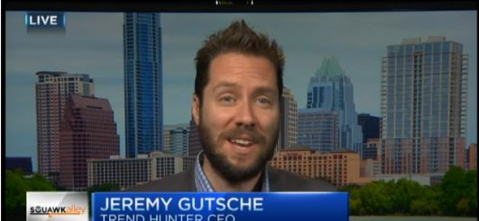 CNBC: Jeremy Gutsche on Better and Faster and Disruption