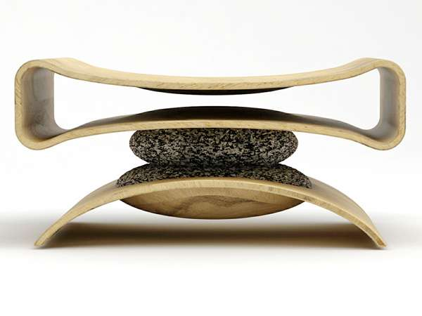 Balancing Granite Furniture