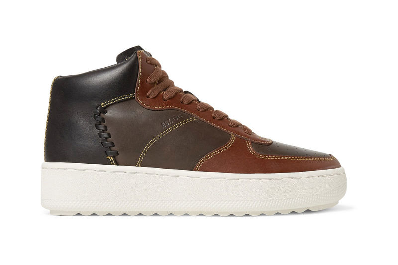 Luxe 70s-Inspired High-Tops
