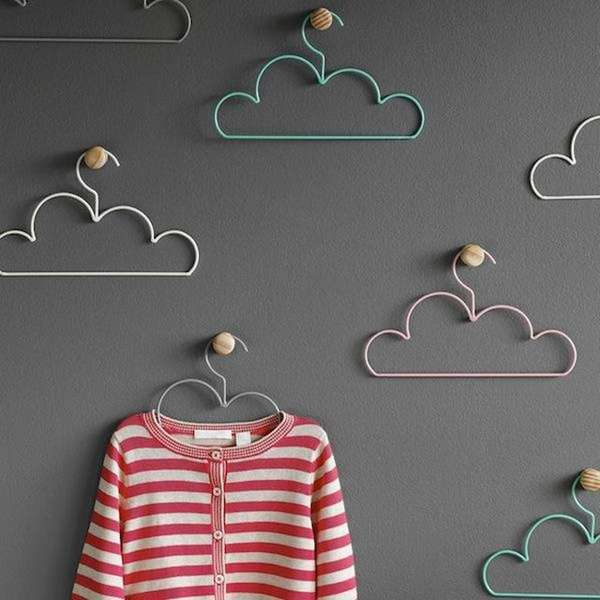 Colorful Cloud Hangers