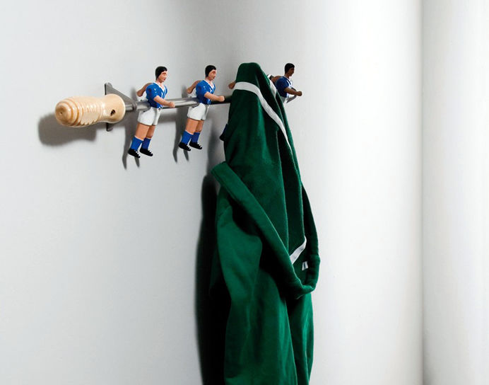 Sports Figurine Coat Racks