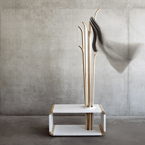 Ski-Inspired Coat Stands