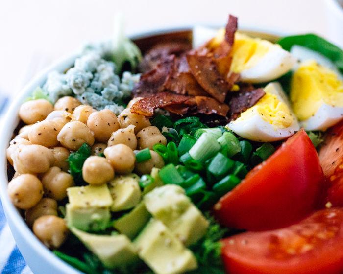 Vegetarian Cobb Salads