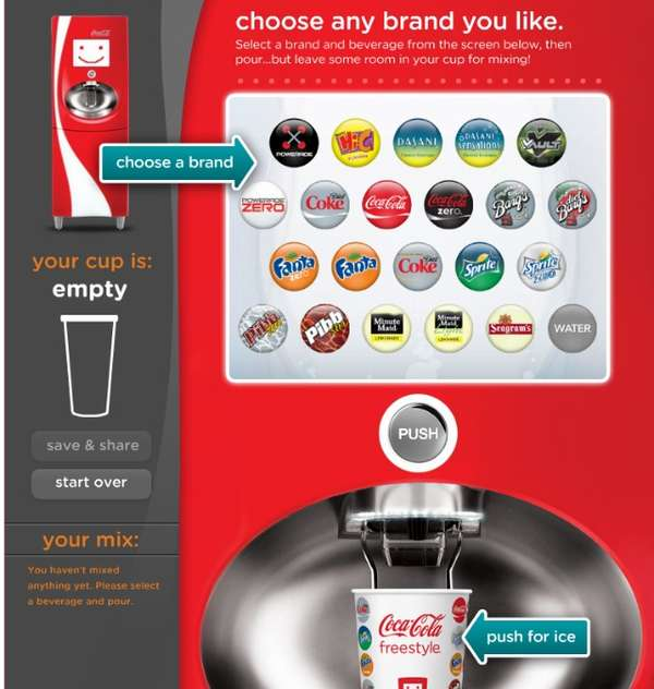 Coca-Cola Freestyle Facebook