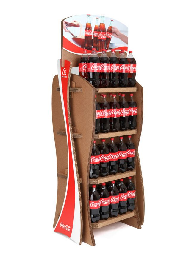 Cola Cardboard Displays