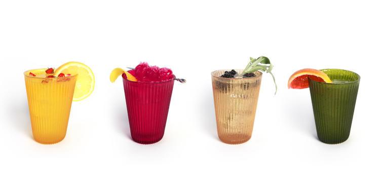 Edible Fruit Leather Glassware