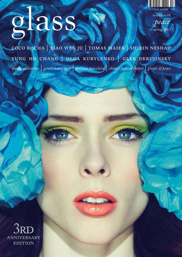 Coco Rocha Glass Magazine