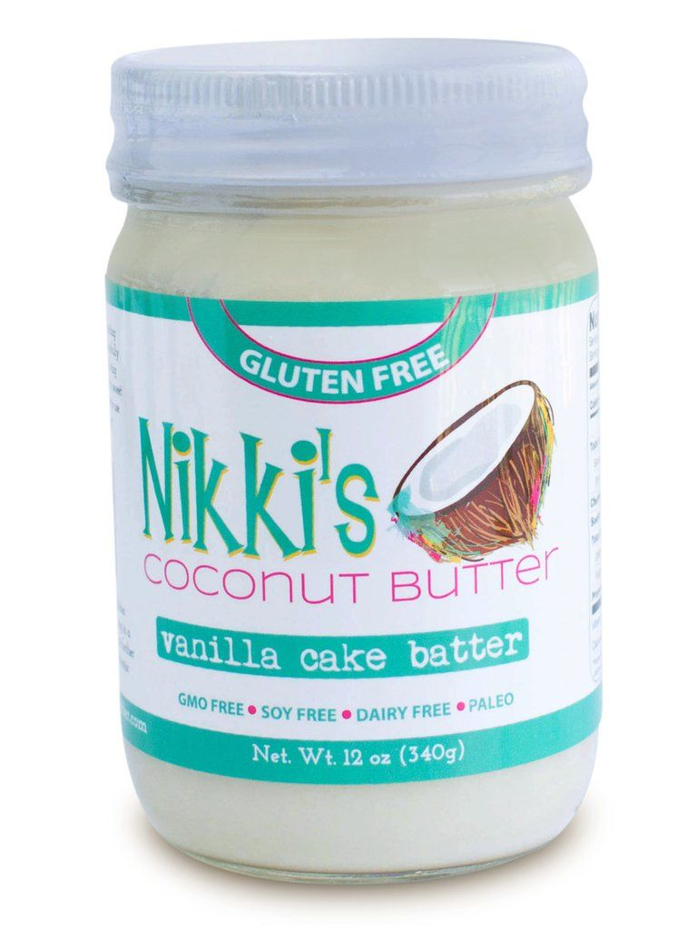 Cake-Flavored Coconut Butters