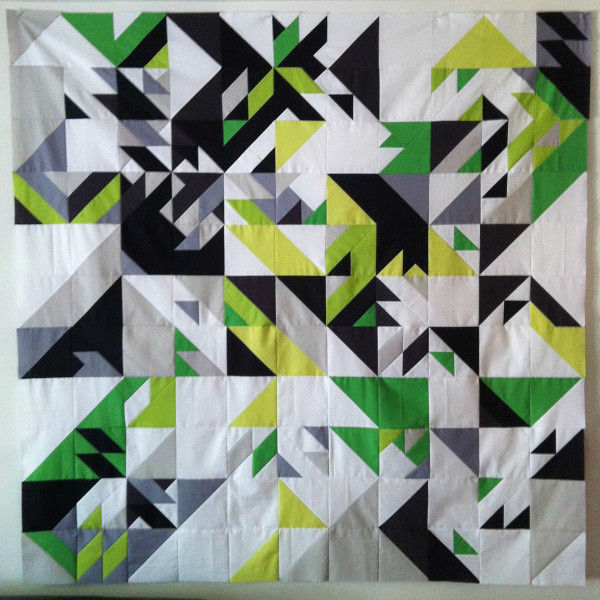 Computer Code Quilts : coded geometric quilts