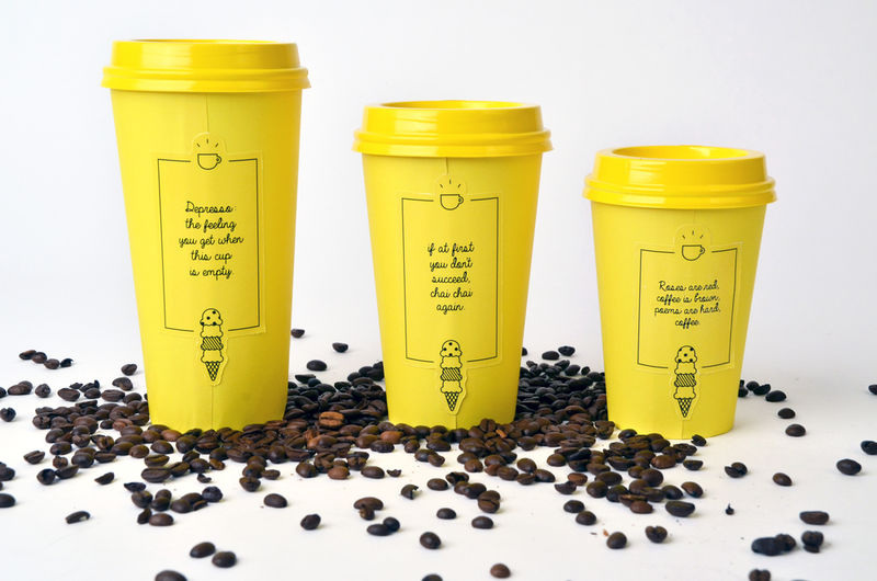 Excitable Cafe Branding