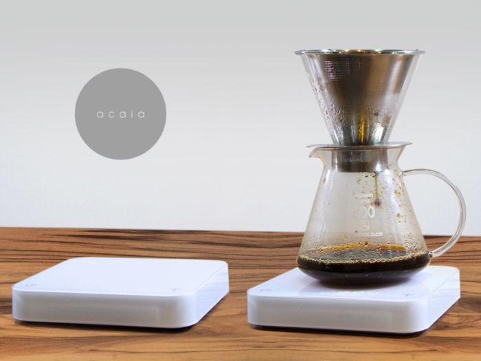 Minimalist Coffee Brewing Scales