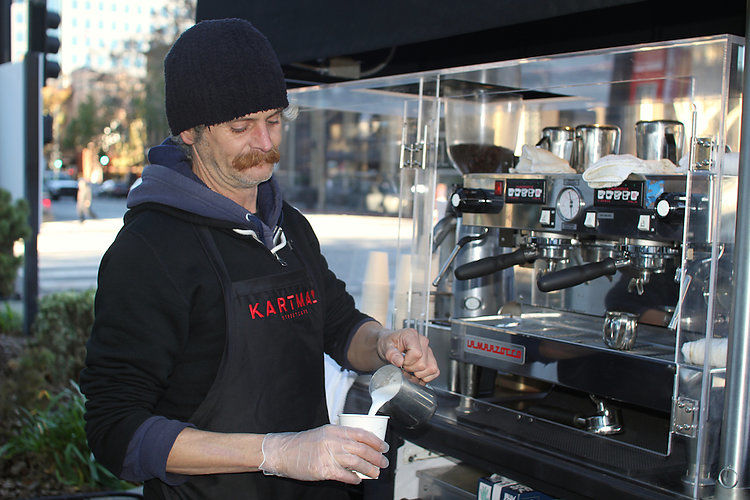 Homeless-Helping Street Cafes