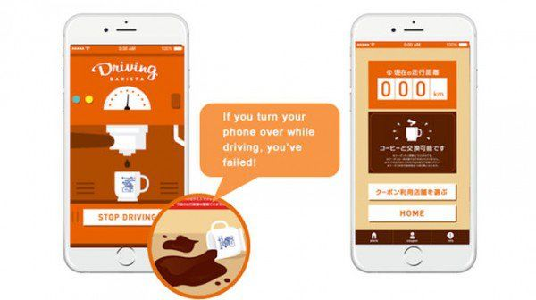 Driver-Rewarding Coffee Apps