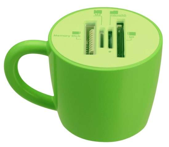 Coffee Cup Card Reader