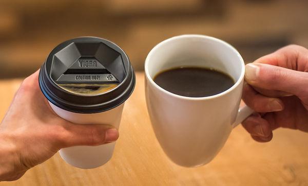 Ceramic Coffee Cup Lids