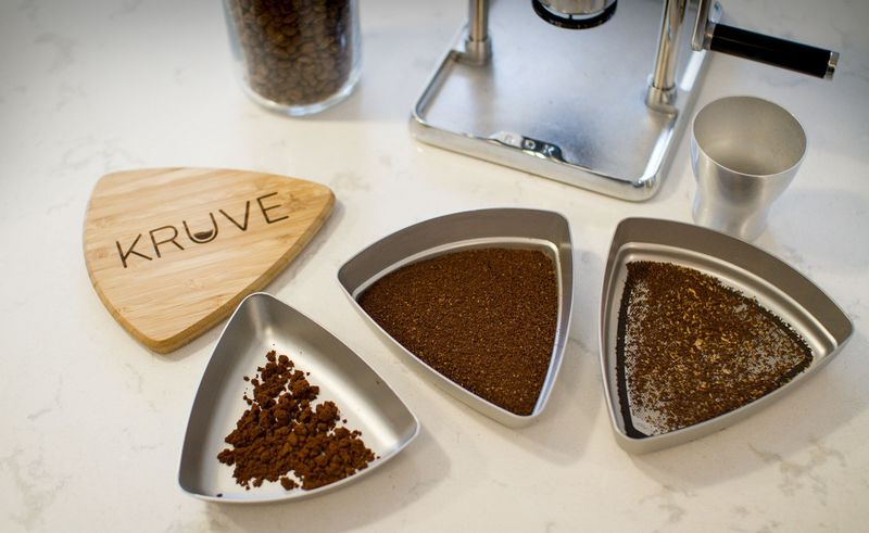 Coffee Grounds Separators