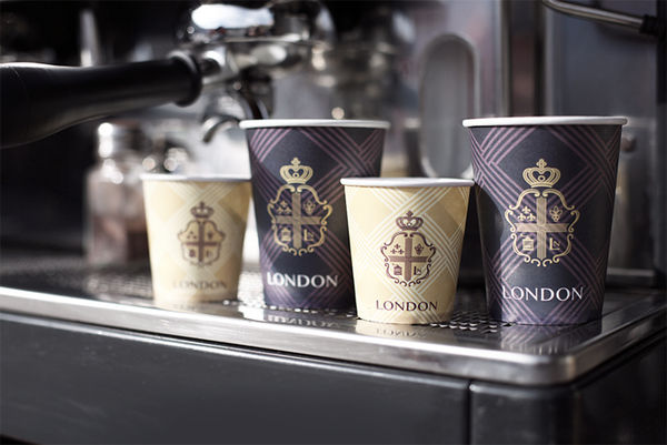 Coffee House London branding