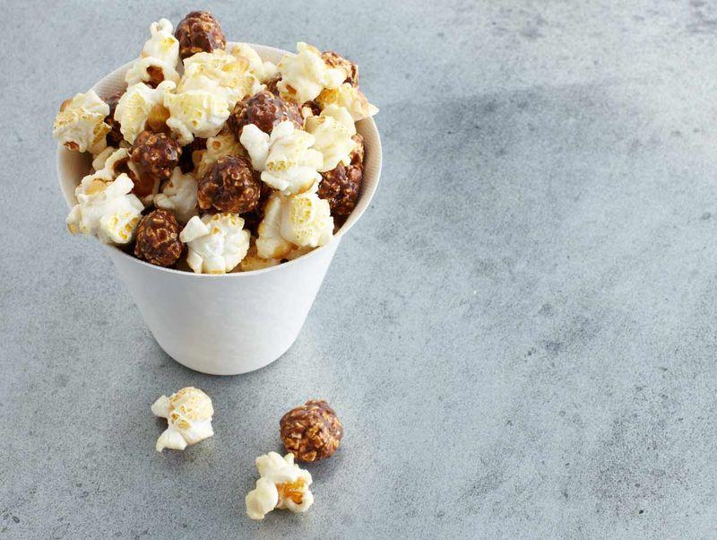 Whole Grain Coffee-Flavored Popcorn