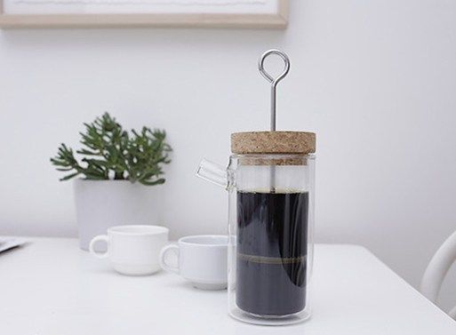 Pressed Cork Coffee Machines