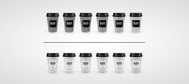 Coffee Order-Mimicking Cups