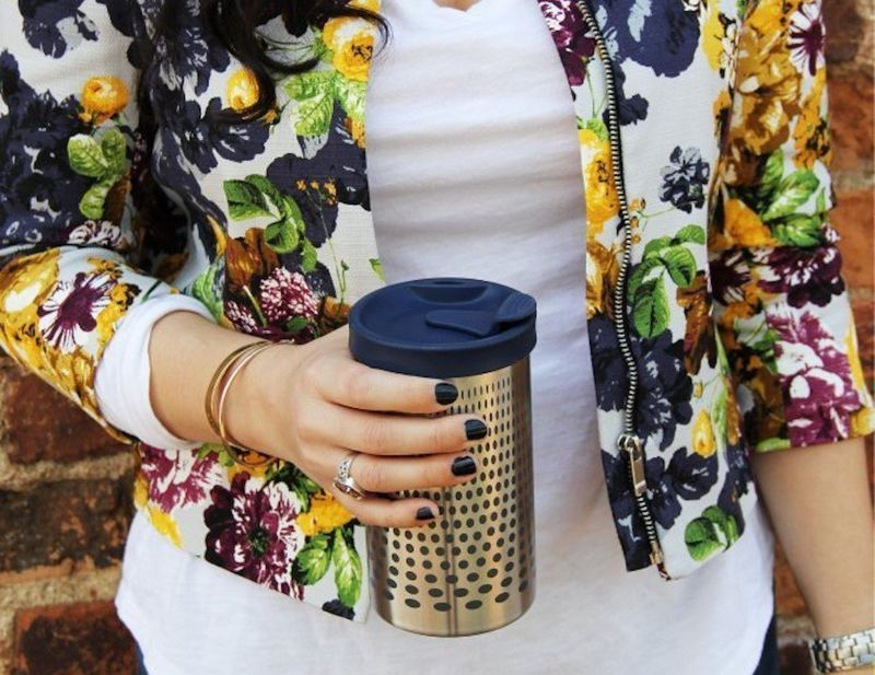 Insulated Coffee-Brewing Mugs