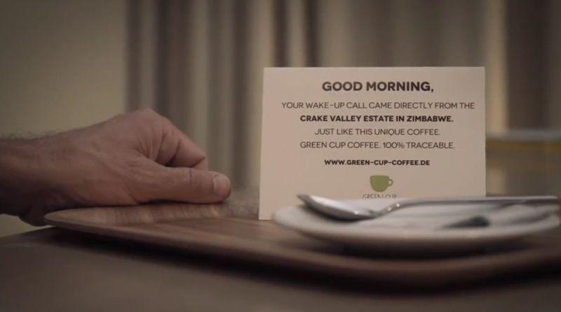 Caffeinated Wake-Up Calls