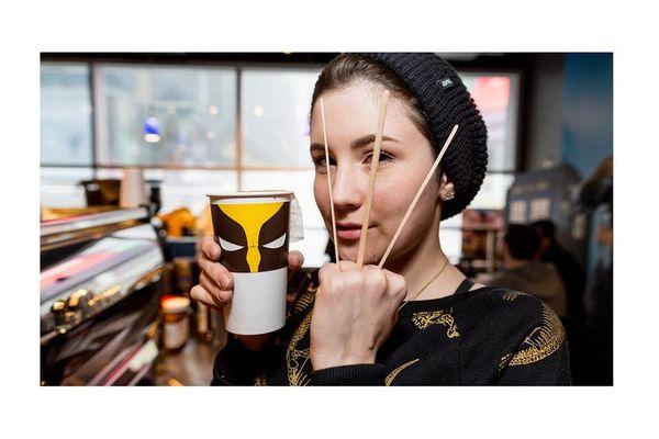 Sensational Superhero Coffee Sleeves