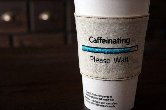Charging Coffee Sleeves