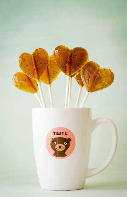 Cinnamon Coffee Lollipops