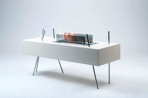 Fire-Filled Coffee Tables