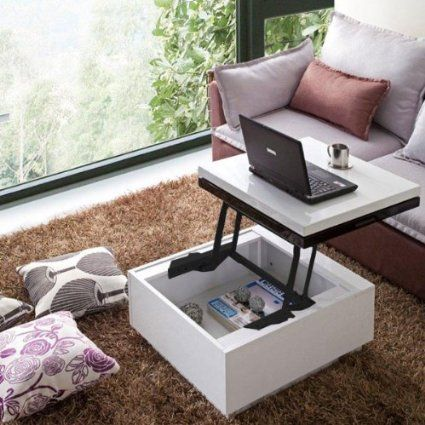 Multifunctional Lift Top Tables Coffee Table Storage