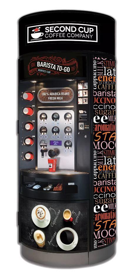 coffee vending machine service