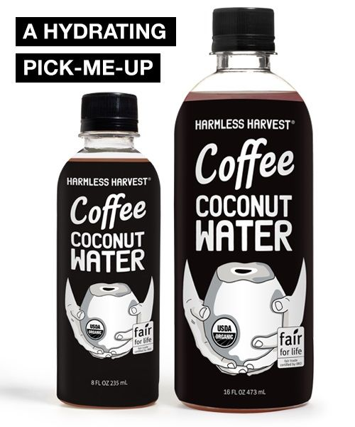Caffeinated Coconut Water